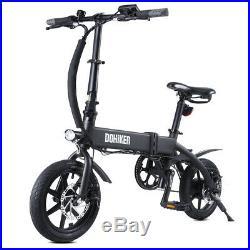 Folding Electric Bike Mountain Cycling 14 E-Bike City Bicycle 250W Motor 10Ah