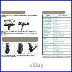Folding Electric Bikes Bicycle E-Bike 250W Motor 14 Wheel 25km/h 15.6 MPH Black