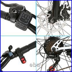 Folding Electric Bikes Mountain Bike 26 Ebike E-Citybike Bicycle 35km/h 250W UK