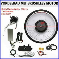 Front Wheel 28'' Electric Bicycle Conversion Kit 36V 250W E-Bike Hub Motor Kit