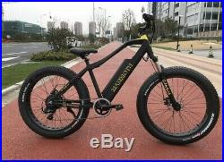 G-HybridMammoth ELECTRIC FatBoy EBIKE Fat Tyre 48v 500w Powerful motor UK