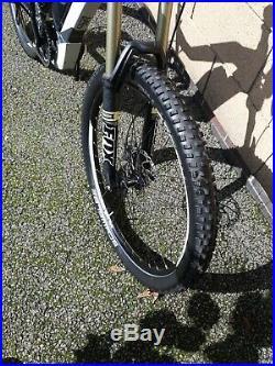 Haibike Sduro Electric Full Suspension Mountain Bike Yamaha Motor Fox