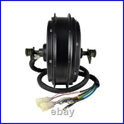 High Power Ebike Electric Bicycle 48-72V 3000-5000W QS Motor Rear Hub 3.5T 5T