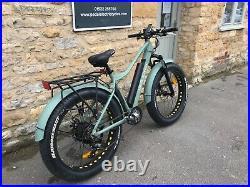 Jorvik Electric Fat Bike 750W Motor