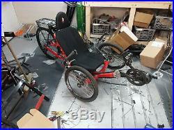 KMX Koyote Electric Recumbent Trike Bafang Mid Drive 750w