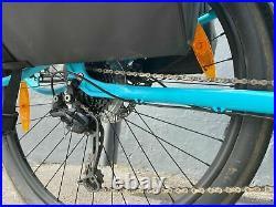 Kona Utility E-Bike with Bosch 500w Motor in Blue electric bike ex demo Bargain