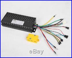 LCD + 48V1500W Hi Speed Electric Bicycle E Bike Hub Motor Conversion Kit 26rear
