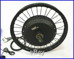 Leili 8000with72v Electric Bike Ebike Fat Tire Regular Tire Conversion Kit MOTOR