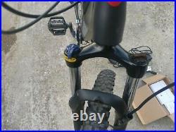 Lombardo Valderice Electric Mountain Bike 250W Motor 18 Frame 18 miles done