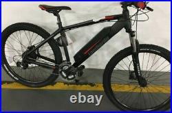 Lombardo Valderice MTB Hub Motor Electric Mountain Bike Black/Red