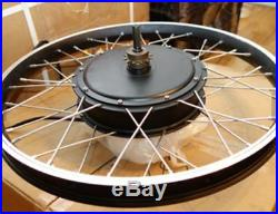 MXUS 3000with72v Electric Bike Ebike Fat Tire or Regular Tire Conversion Kit MOTOR
