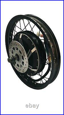 Niubo 14000with72v Electric Bike Ebike Fat Regular Tire Conversion Kit MOTOR ONLY