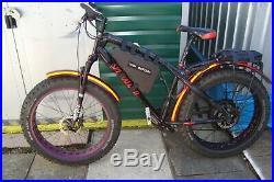 Pedalease Big Cat Electric Fat Bike 1500 Watt Direct Drive Motor