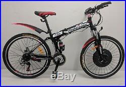 Pedalease electric folding bike 36v 250w integrated motor battery ICU in wheel