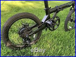 Qualisports 20 Inch Folding Electric Bike