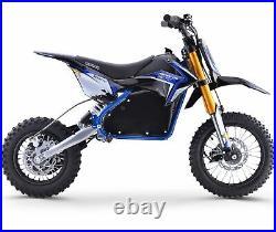 Renegade 1200E 48V 1200W Electric Dirt Bike Motor Cross Blue