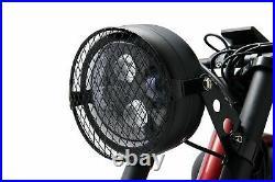 Retro Beach Cruiser, E bike, electric bicycle. High spec. High torque motor