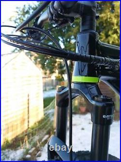 Saracen zen e electric bike hardtail e bike Shimano steps e 8000 motor haibike