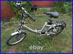 Spares&Repairs Juicy Electric Folding Bike, 20 wheel rear motor 250w 36v