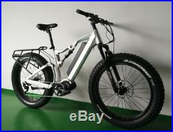 TRIAD Defender ALL-ROAD Electric Mountain Bike Fat Bike Bafang Ultra 1000W Motor