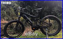 TRIAD TRIDENT 1500-GX Electric Mountain Bike eBike 1000W Bafang Ultra Motor