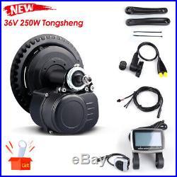 Tongsheng 36V 250W TSDZ2H Mid Motor Torque Sensor Electric Bike Conversion Kits