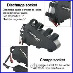 Triangle High Capacity Electric E-Bike Battery 52V 20Ah Compatible 48V Motors