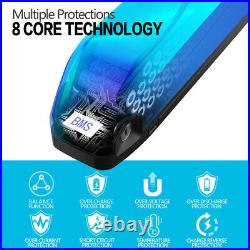 UPP 36V/48V/52V Hailong Lithium Ebike Battery for 1000W Electric Bicycle Motor