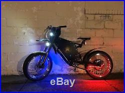 USA Built, 10,000watts Super VECTOR 84v 32ah Electric Bike Ebike, QS V3 Motor