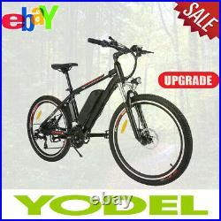 Upgraded Electric Mountain Bike 26 E-Bike Bicycle CityBike Cycling 250W Motor