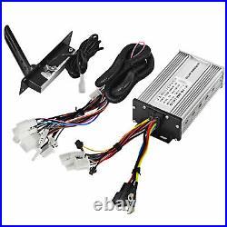 VEVOR 1800W 48V DC Brushless Electric Motor Kit for E-Bike Go Kart Wire Controll