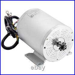 VEVOR 2000W 48V DC Brushless Electric Motor Kit for E-Bike Go Kart Controller