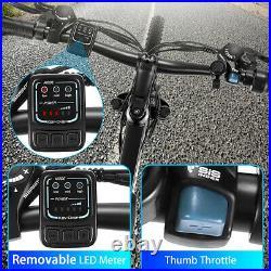 VIVI Electric Bike 26 Mountain Bicycle City Ebike 350W Motor Shimano 21 Speed