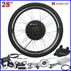 Voilama 281000W Rear Electric Bicycle Conversion Kit Bike Wheel Motor LCD Meter