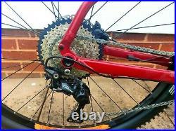 Voodoo Bizango E electric Mountain Bike Large Only 15 Miles bosch motor and batt