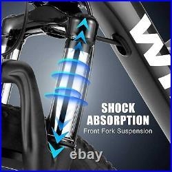 WINICE Electric Bike 26 Mountain Bicycle City Ebike 350W Motor Shimano 21 Speed