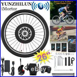 YUNZHILUN 26 Electric Front Bicycle Wheel E-bike 36V 240W Motor Conversion Kits